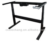 office furniture Ergonomic electric Height adjustable wroking table desk Iron frame