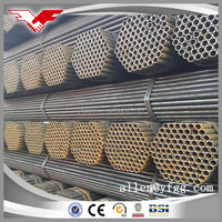 Construction used ERW welded carbon steel pipes made in China