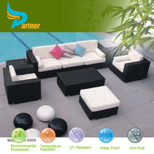 All Weather PE Rattan Factory Manufacturer Direct Wholesale Sofa Lounge Outdoor New Classic Cheap External Furniture