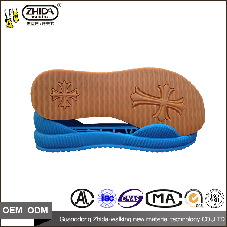 OEM ODM factory price sandals outsole or rubber soles for sandals