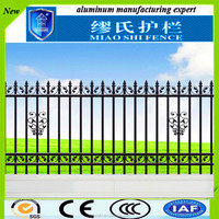 China Manufacturer used metal solid panel for garden fence gate design