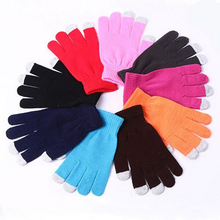 Promotional Unisex Pad 3 Smart Finger Soft Touch Sensitive Gloves