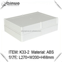 270*200*68MM ABS PC IP65 plastic weatherproof wiring enclosures