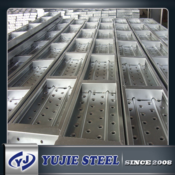 Building Suspended Access Scaffolding Steel Plank /Metal Deck
