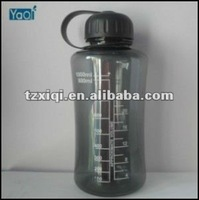 Plastic water bottle for army