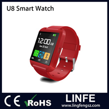 (Shipped by DHL)Wholesale 1.44 Inch Bluetooth 3.0 U8 Smart Watch (For Year-End Promotion)