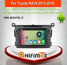 Hifimax Android 6.0 car multimedia system for toyota rav4 manual car dvd player car dvd gps for toyota rav4 2013 2016