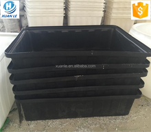 Rectangular open top plastic storage tubs for sale