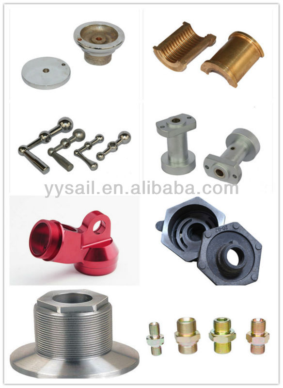 CNC machining parts OEM works