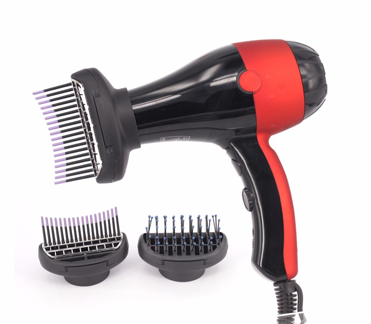 Professional 2400w Salon Use Ozone Hair Dryer With Comb