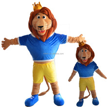 MAE-0197 Funny cartoon Adult Custom mascot lion costume