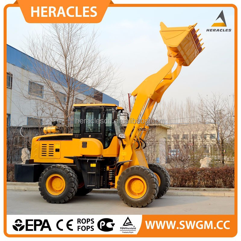 2015 new product wheel loader dvd loader heracles brand hr928L