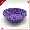 Attractive price handmade lovely small plastic rattan food fruit baskets