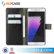 Card Slot Wallet Cell Phone Case For Samsung Galaxy Note 7