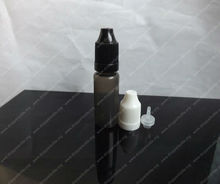 EO sterile 10ml anti-light PE plastic black eye drops bottle refill e-cig for packing