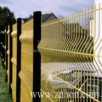 highly durable used fencing for sale anti-cut welded mesh panel fence(Anping ZH fence)
