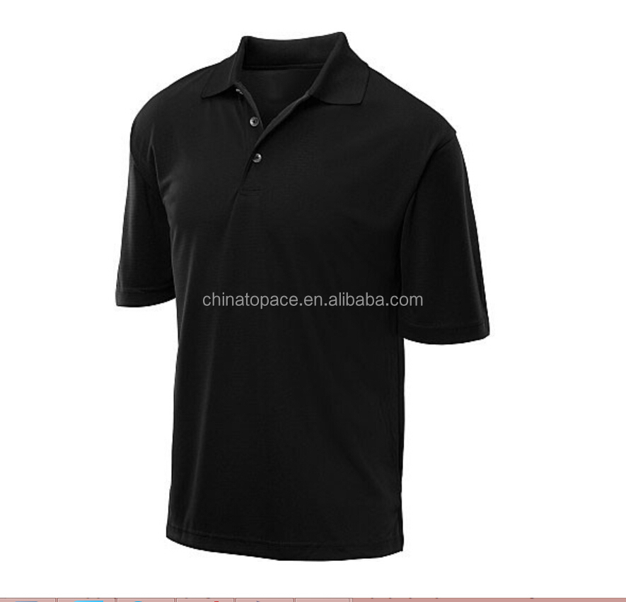 100% polyester Performance Moisture Wicking Outdoor sports golf polo t shirt wholesale men's polo shirts