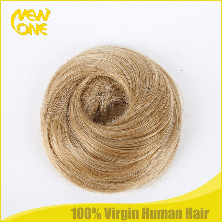 Synthetic hair top knot for wholesale bulk stock top knots