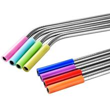 Factory hot sale Reusable metal drinking straws