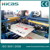 HICAS China automatic nailless plywood box packaging machine manufacturer