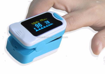 Heart Pulse Blood Oxygen Level Fingertip Monitor Spo2 PR PI Finger Oximeter CE