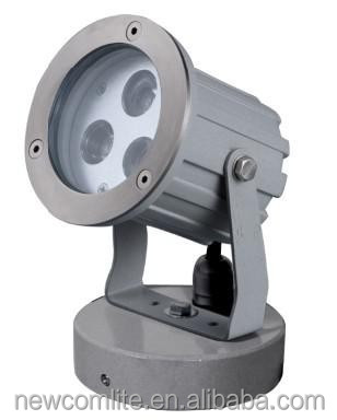 HIGH POWER 3X3W LED GARDEN SPOTLIGHT with base