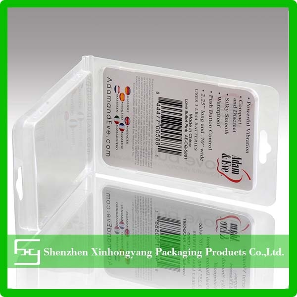 2015 Made in China slide card blister packaging for electronic