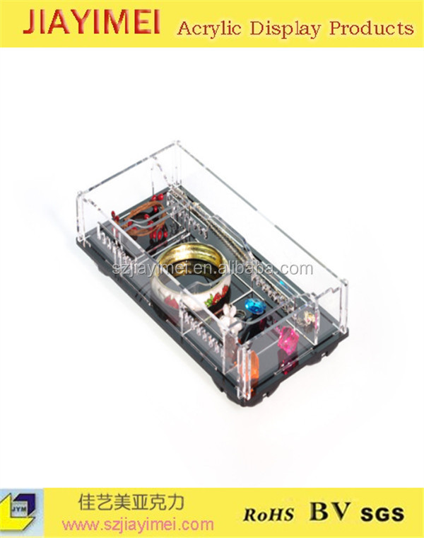 Automatic acrylic display box/jewels organizer/ hand made acrylic box in boxes