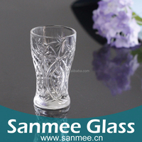 234ml Transparent Glass Juice Restaurant Glassware