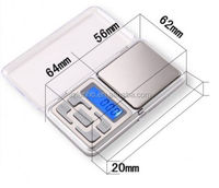 Pocket Digital Jewelry Scale Weight 500g x 0.01g 0.1g Balance or calibration