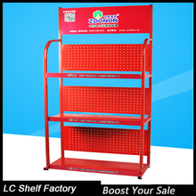 essential oil display, motor oil display rack for auto retail shop