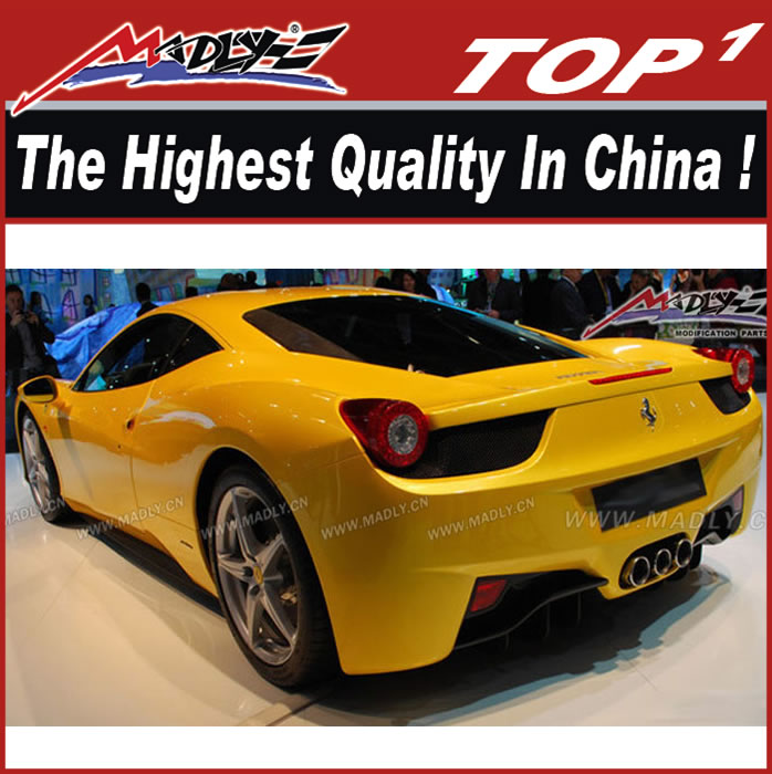 New carbon body kit for 2011-2014 Ferrari 458 body kit 458 car body kit
