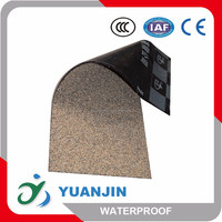 3mm 4mm roof APP/SBS polyester modified asphalt waterproofing materials aluminum foil/sand /slates