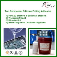 room temperature curing silicone encapsulating