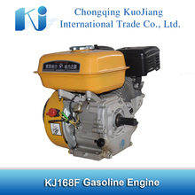 CE/ ISO certificated gasoline engine 168f