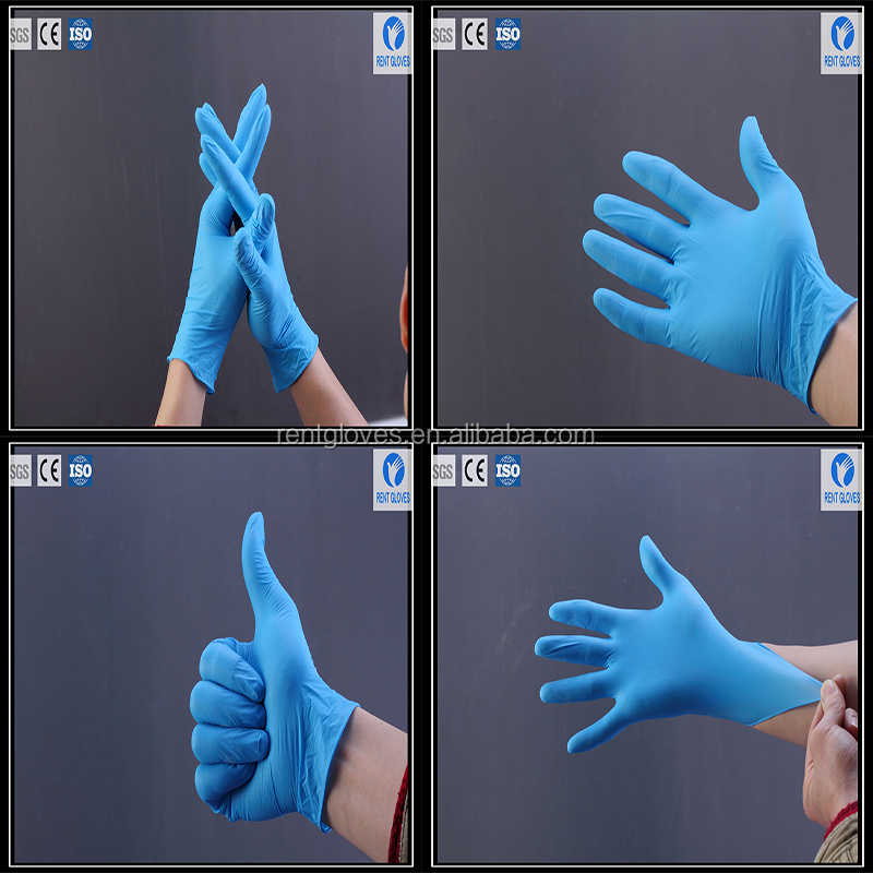 protective nitrile gloves disposable top gloves long latex free gloves