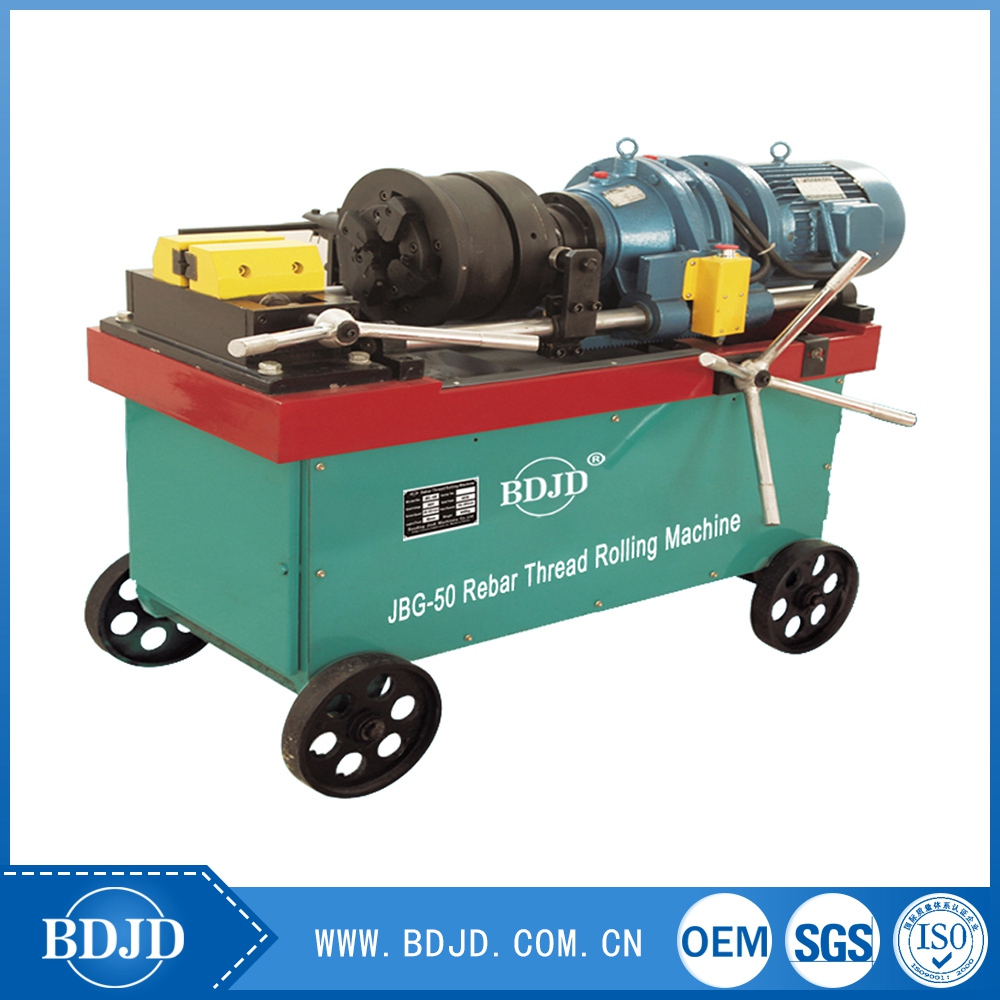 Scaffolding pipe thread rolling machine Rebar threaded rolling machine
