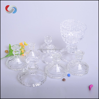 Wine Glass Candle Holder Candelabra For Table Center Christmas Tree Glass Stand Wedding Decoration Lighted Pillar