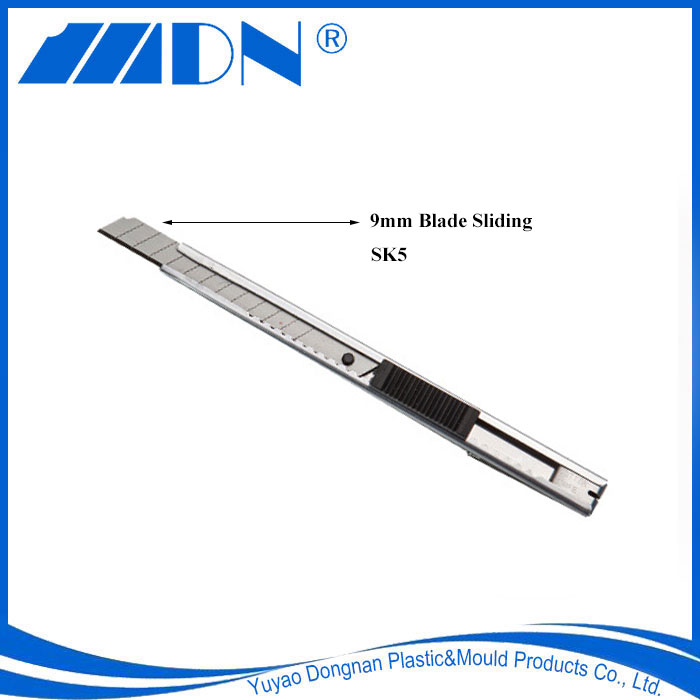 DN1-014 Utility Knife SK5 9mm Sliding Blade Knife With Stainless Steel Case