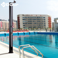 Hot Sale High Quality Stainless Steel Outdoor Shower in Chinese Factory BS-6911