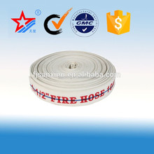 2017 CE certification 50mm PVC mix Rubber TPU lining fire fighting equipment hose