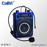 Callvi 18W Multi-function Portable ECHO WAV,MP3,REC Record Audio Format Small megaphone For Teachers Tour Guide Support TF Card