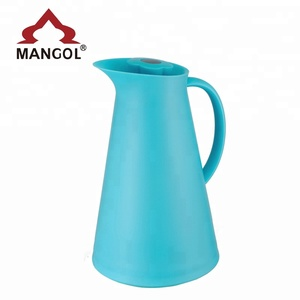 1L Plastic Thermos Inner Glass Vacuum Flask with New Style