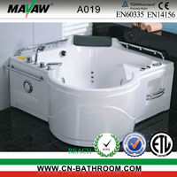 2014 New Design freestanding whirlpool bath tub A019/A019B