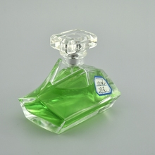 high quality strange shape glass perfume bottle 100ml empty strange glass perfume bottle