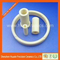 Heat resistant round insulation alumina ceramic ring al2o3 tube