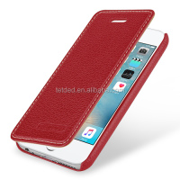 TETDED Premium Luxury Leather Flip Case for iPhone SE