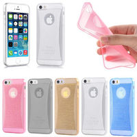 "Thin Crystal Glow Soft Silicone Back Cover Case Skin for Apple 4.7"" iPhone 6 New"