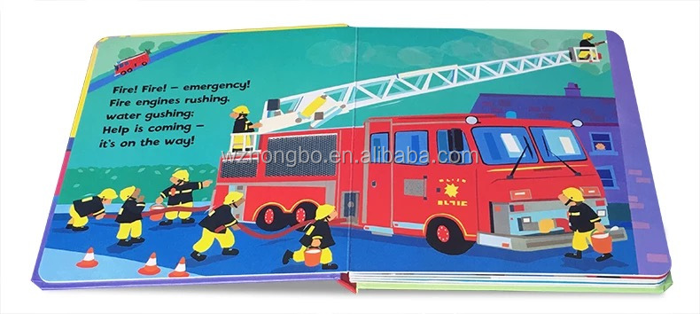 white cardboard with colorful printing English cartooon story books