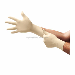 medical latex gloves disposable latex surgical gloves malaysia 100% natural latex